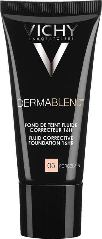 Vichy Dermablend Fluid Corrective Foundation SPF35 Makeup 05 Porcelain 30ml
