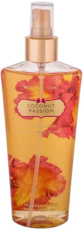 Victoria´s Secret Coconut Passion Body Spray 250ml Damaged Flacon
