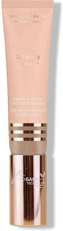 Vita Liberata Beauty Blur Primer & Tinted Face Moisturiser CC Cream Latte Light 30ml
