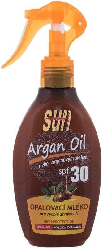 Vivaco Sun Argan Oil SPF30 Sun Body Lotion 200ml (Bio Natural Product)