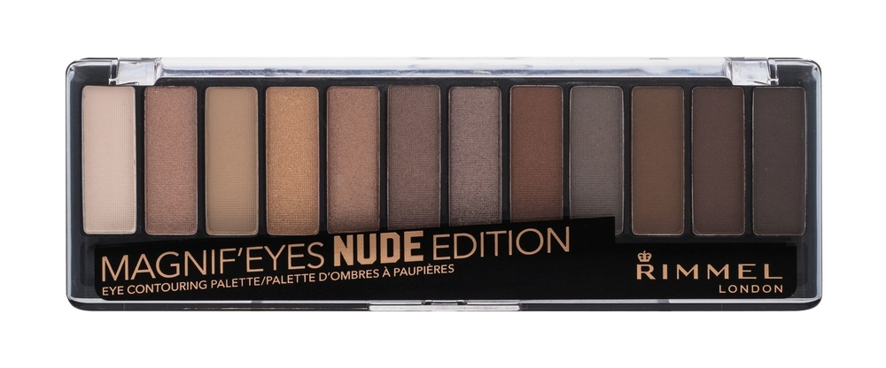 Rimmel London Magnif Eyes Contouring Palette Eye Shadow 14,16gr 001 Nude Edition