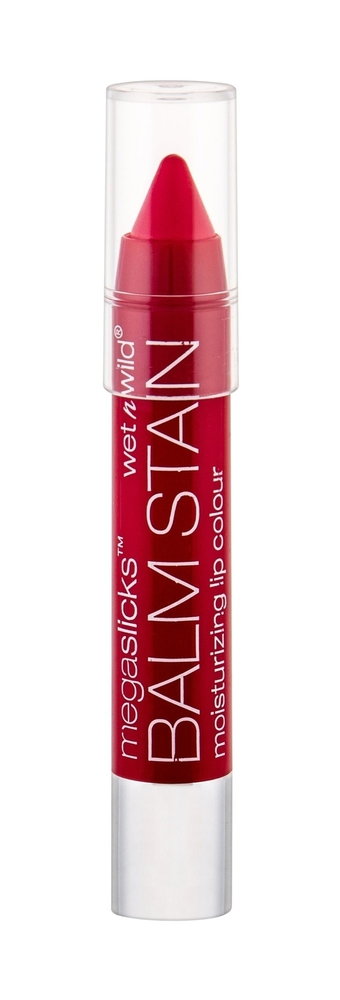 Wet N Wild Megaslicks Balm Stain Lip Balm 3gr Red-ioactive (For All Ages)