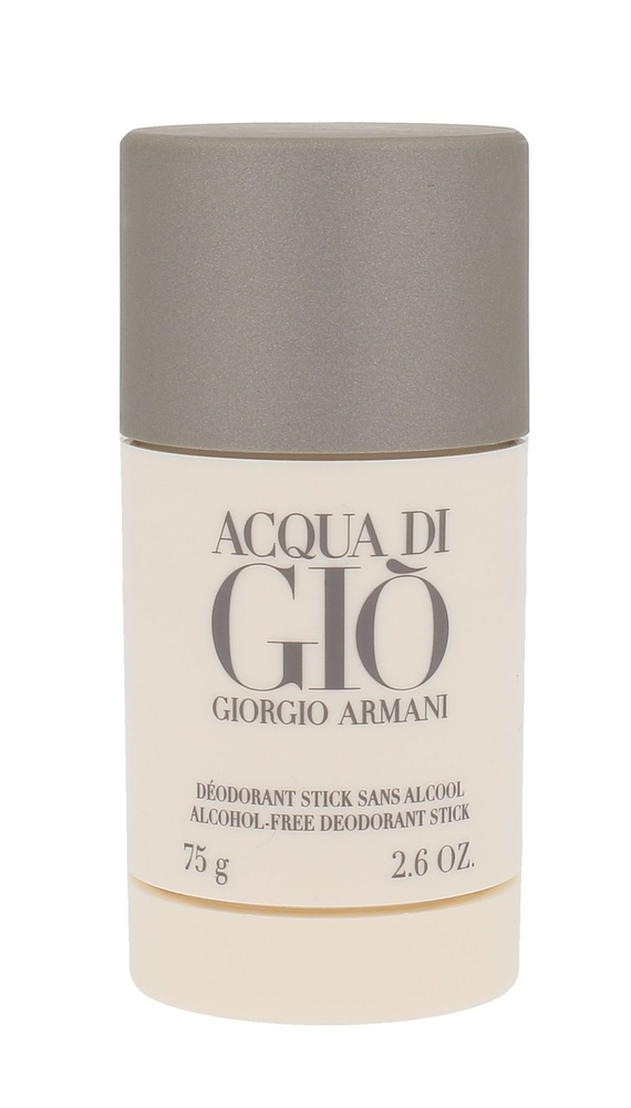 Giorgio Armani Acqua Di Gio Pour Homme Deodorant 75ml Aluminum Free - Alcohol Free (Deostick)