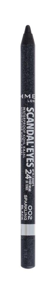 Rimmel London Scandal Eyes Kajal Eye Pencil 1,3gr Waterproof 24hr 002 Sparkling Black