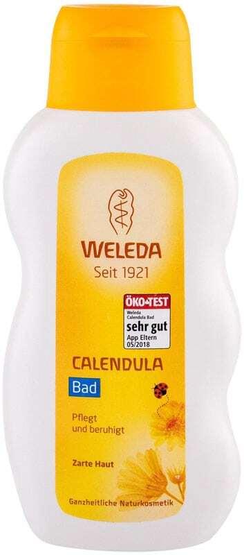 Weleda Baby Calendula Bath Bath Foam 200ml