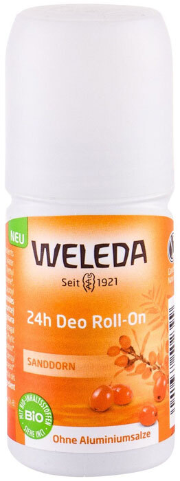 Weleda Sea Buckthorn 24h Roll-On Deodorant 50ml (Roll-On - Aluminium Free)
