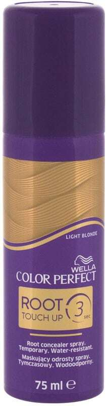 Wella Color Perfect Root Touch Up Hair Color Light Blonde 75ml (Colored Hair - All Hair Types)