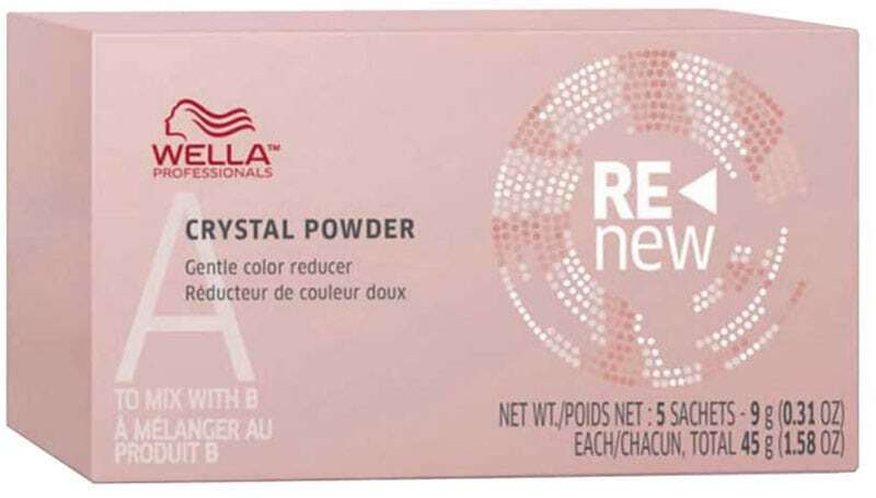 Wella Professionals Color Renew Crystal Powder Hair Color 5x9gr (Colored Hair)