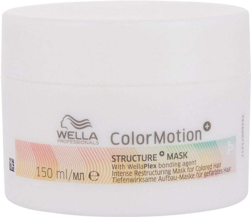 Wella Professionals ColorMotion+ Structure Hair Mask 150ml (Colored Hair - Brittle Hair - Highlighted Hair - Damaged Hair - Split Ends)