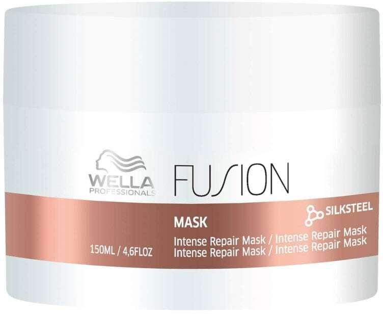 Wella Professionals Fusion Hair Mask 150ml (Brittle Hair - Damaged Hair - Split Ends)