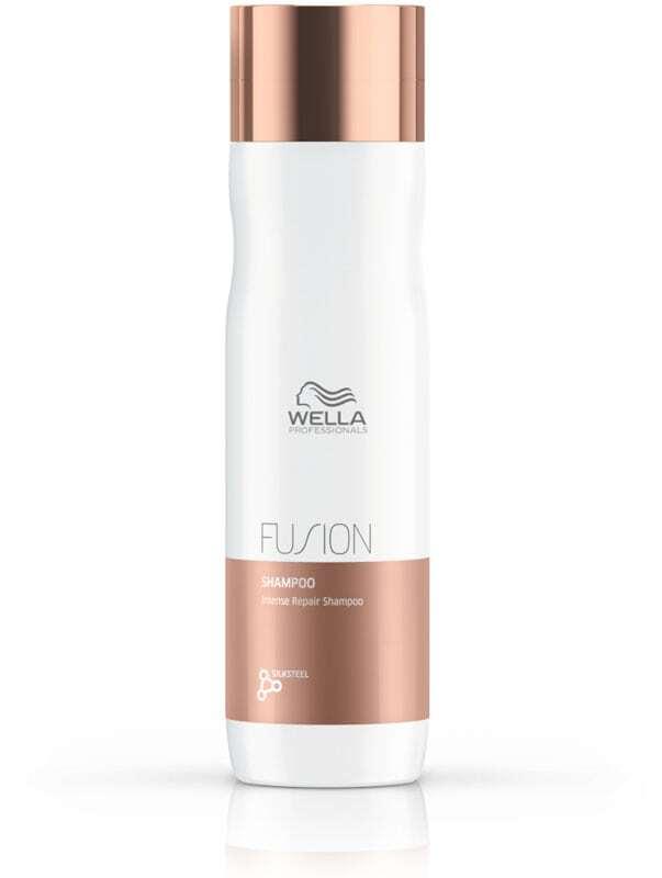 Wella Professionals Fusion Shampoo 250ml (Colored Hair - Brittle Hair - Damaged Hair - Dry Hair)