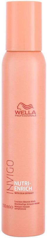 Wella Professionals Invigo Nutri-Enrich Luscious Mousse Hair Mask 150ml (Brittle Hair - Dry Hair)