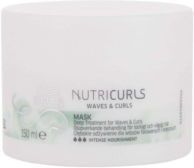 Wella Professionals Nutri Curls Hair Mask 150ml (Curly Hair - Unruly Hair - Dry Hair - Curly Hair)