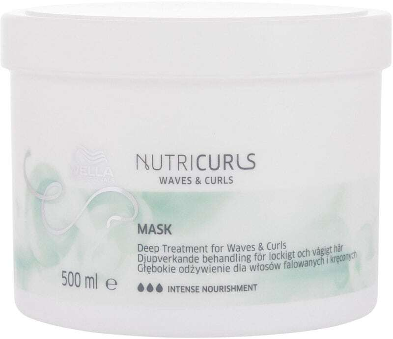 Wella Professionals Nutri Curls Hair Mask 500ml (Curly Hair - Unruly Hair - Dry Hair - Curly Hair)