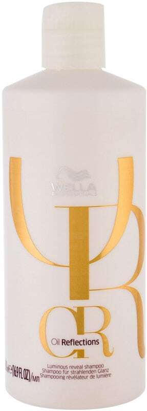Wella Professionals Oil Reflections Shampoo 500ml (Colored Hair - All Hair Types)