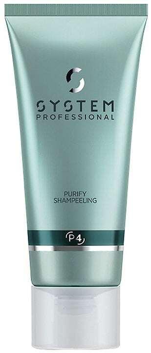 Wella Professionals System Professional Purity Shampeeling Shampoo 150ml (Dandruff - Oily Hair)
