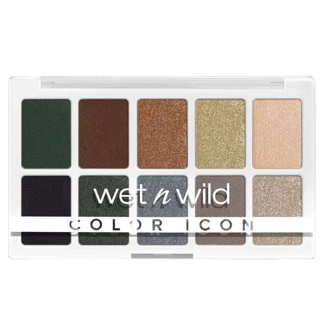 Wet N Wild Color Icon 10 Pan Palette Lights Off 076E