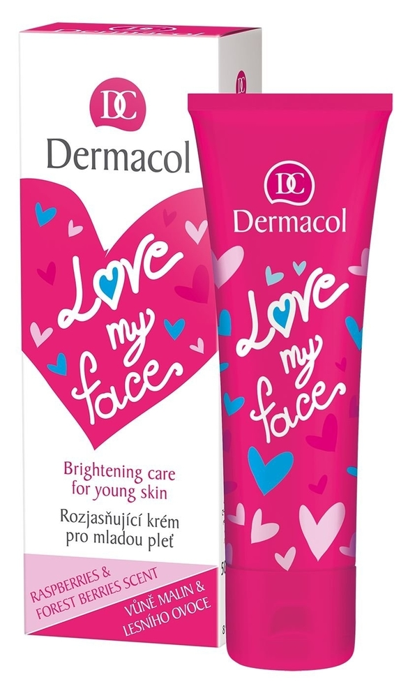Dermacol Love My Face Brightening Care Day Cream 50ml (Young Skin - All Skin Types)