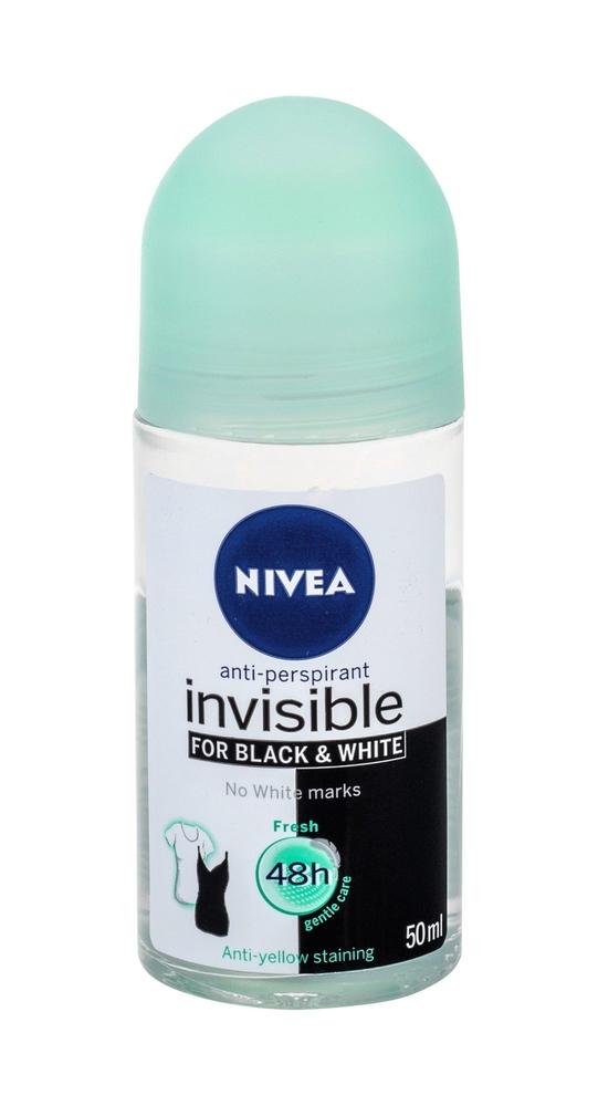 Nivea Invisible For Black & White 48h Antiperspirant 50ml (Roll-on)