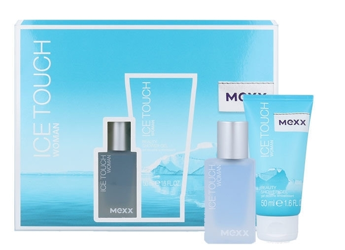 Mexx Ice Touch Woman 2014 Eau De Toilette 15ml Combo: Edt 15ml + 50ml Shower Gel
