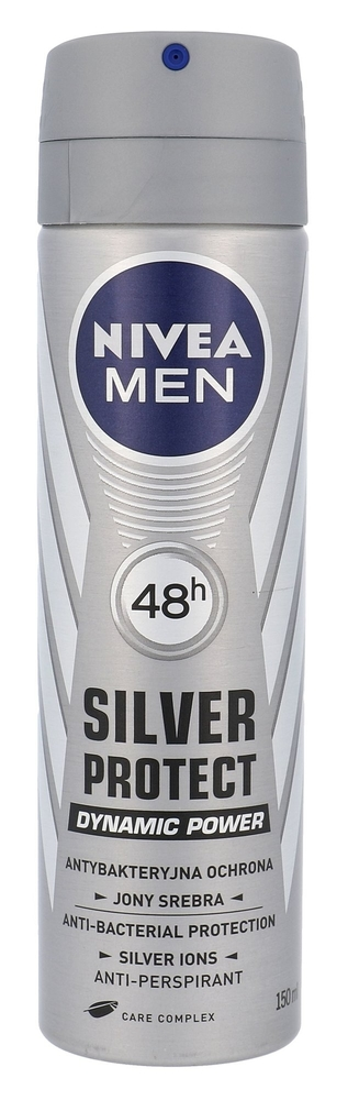 Nivea Men Silver Protect 48h Antiperspirant 150ml (Deo Spray)