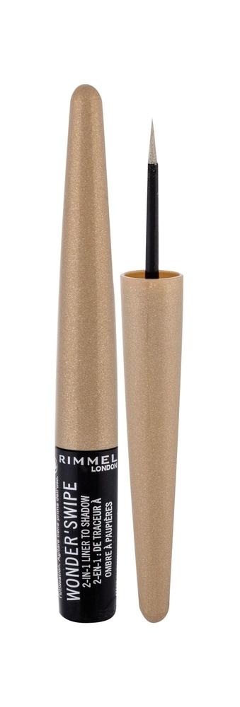 Rimmel London Wonder/swipe 2in1 Eye Line 1,7ml 003 Ballin/ (Liquid - Gold)