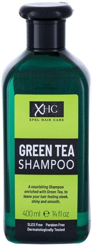 Xpel Green Tea Shampoo 400ml (All Hair Types)
