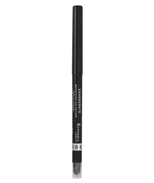 Rimmel London Exaggerate Eye Pencil 0,28gr Waterproof 263 Starlit Black