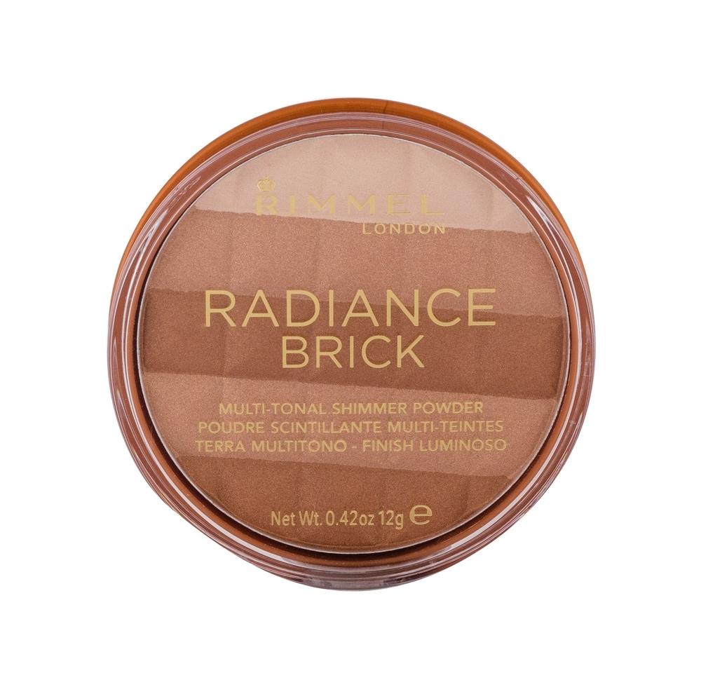 Rimmel London Radiance Brick Bronzer 12gr 001 Light