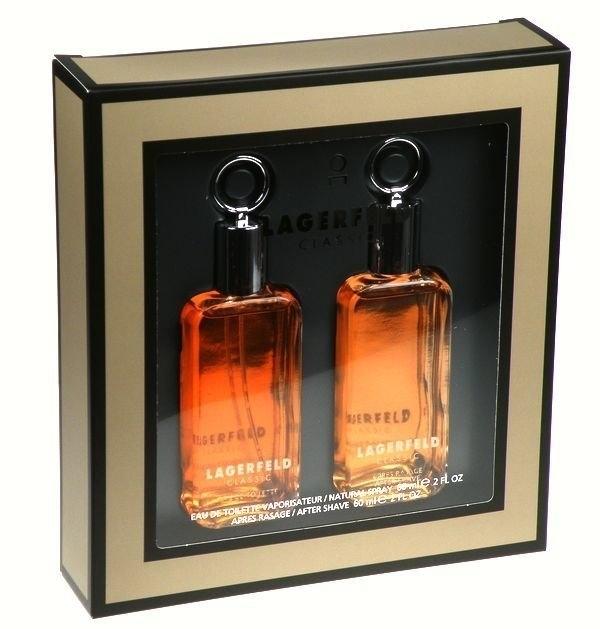 Lagerfeld Classic Eau De Toilette 60ml - SET: Eau De Toilette 60ml & 60ml Aftershave