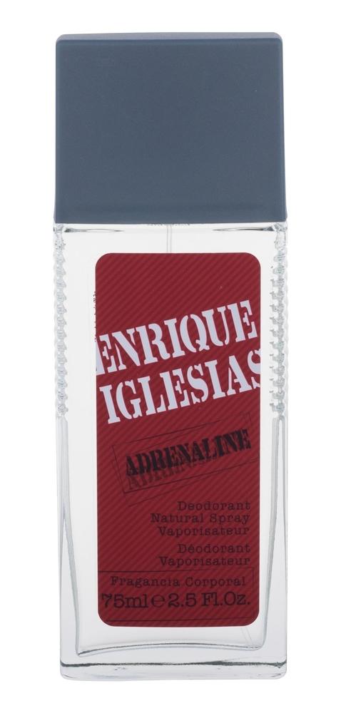 Enrique Iglesias Adrenaline Deodorant 75ml Aluminum Free (Deo Spray)