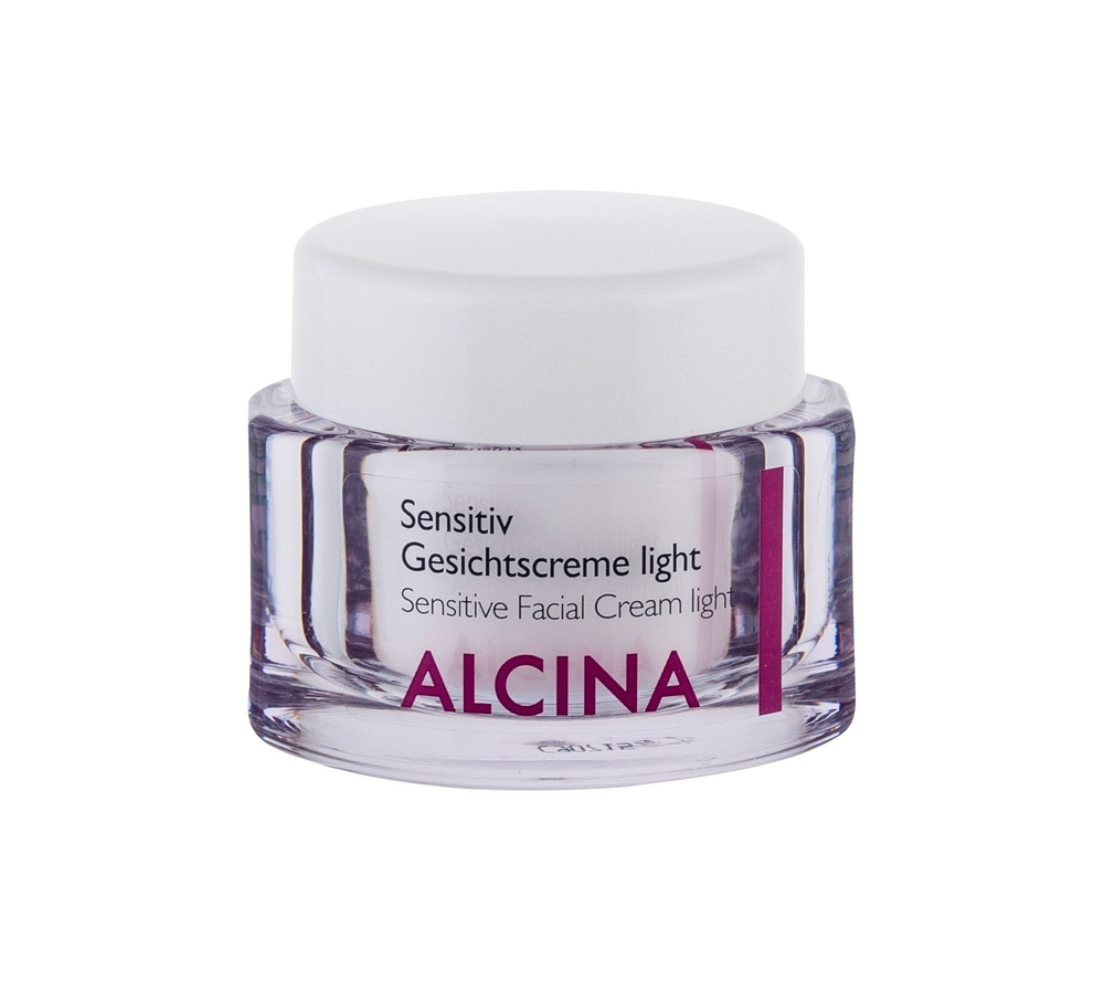 Alcina Sensitive Facial Cream Light Day Cream 50ml (All Skin Types - For All Ages)