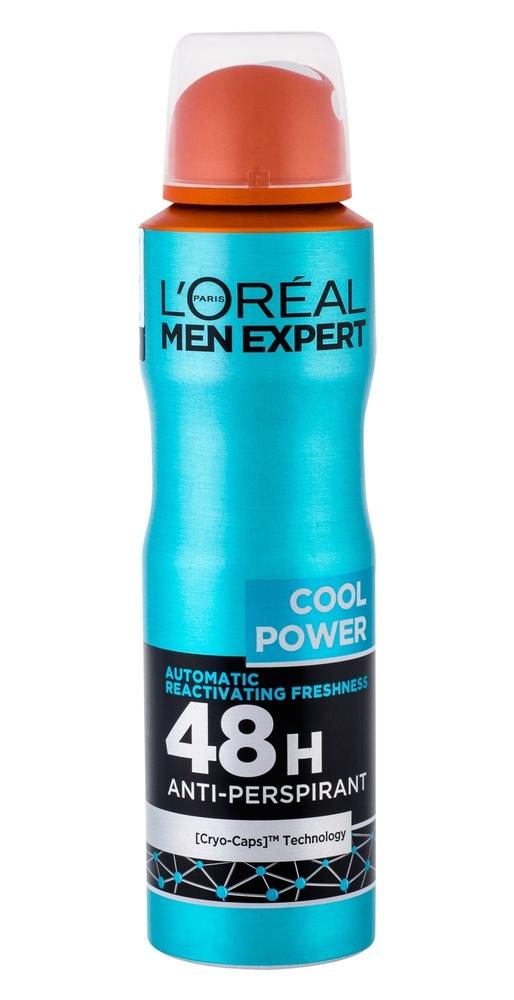 L/oreal Paris Men Expert Cool Power Antiperspirant 150ml 48h (Deo Spray)