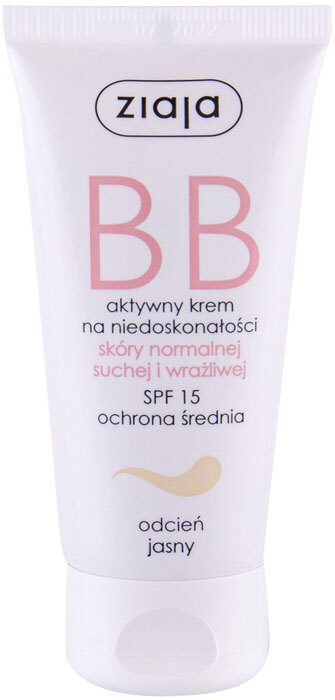Ziaja BB Cream Normal and Dry Skin SPF15 BB Cream Light 50ml