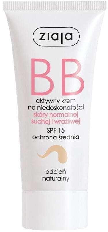 Ziaja BB Cream Normal and Dry Skin SPF15 BB Cream Natural 50ml