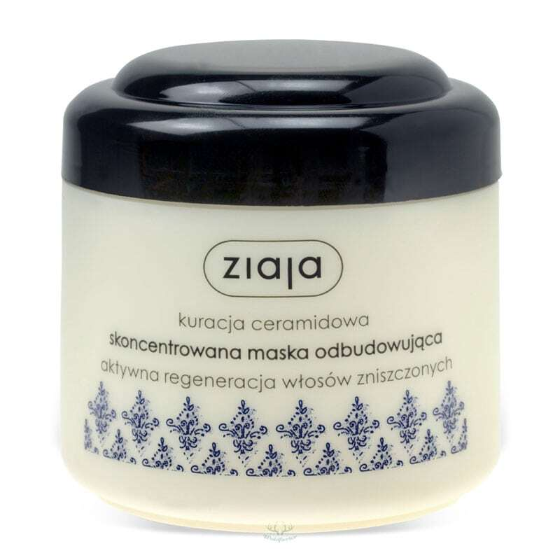 Ziaja Ceramide Concentrated Hair Mask Hair Mask 200ml (Damaged Hair - Split Ends)