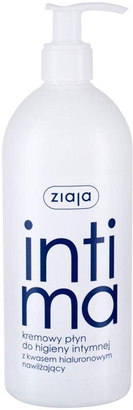 Ziaja Intimate Creamy Wash With Hyaluronic Acid Intimate Cosmetics 500ml