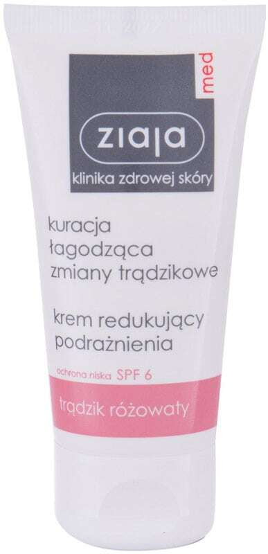 Ziaja Med Acne Treatment Soothing SPF6 Day Cream 50ml (For All Ages)