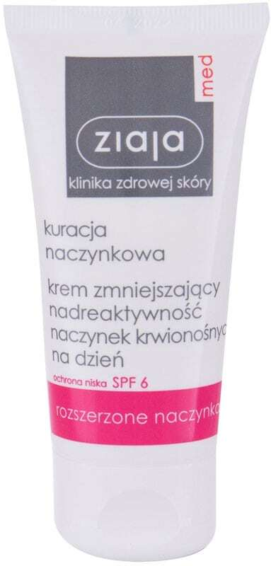 Ziaja Med Capillary Treatment SPF6 Day Cream 50ml (For All Ages)