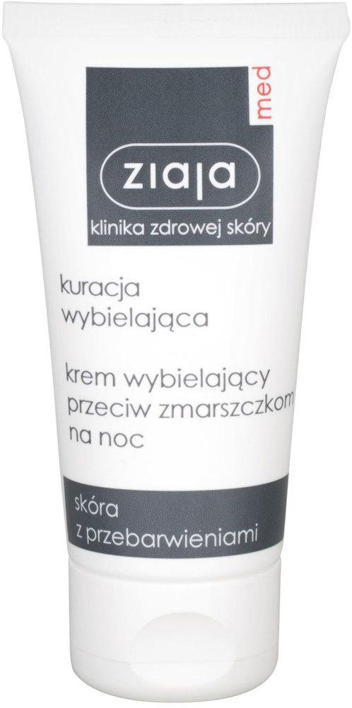 Ziaja Med Whitening Anti-Wrinkle Night Skin Cream 50ml (For All Ages)