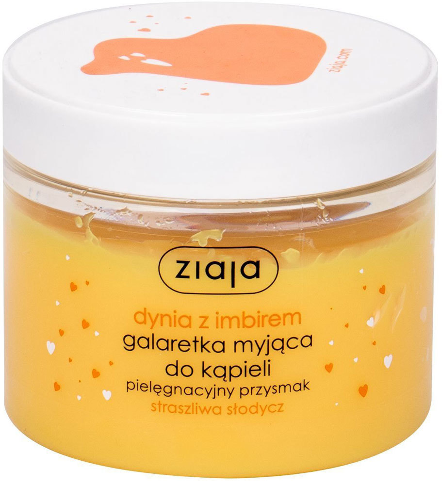 Ziaja Pumpkin With Ginger Bath Jelly Soap Shower Gel 260ml
