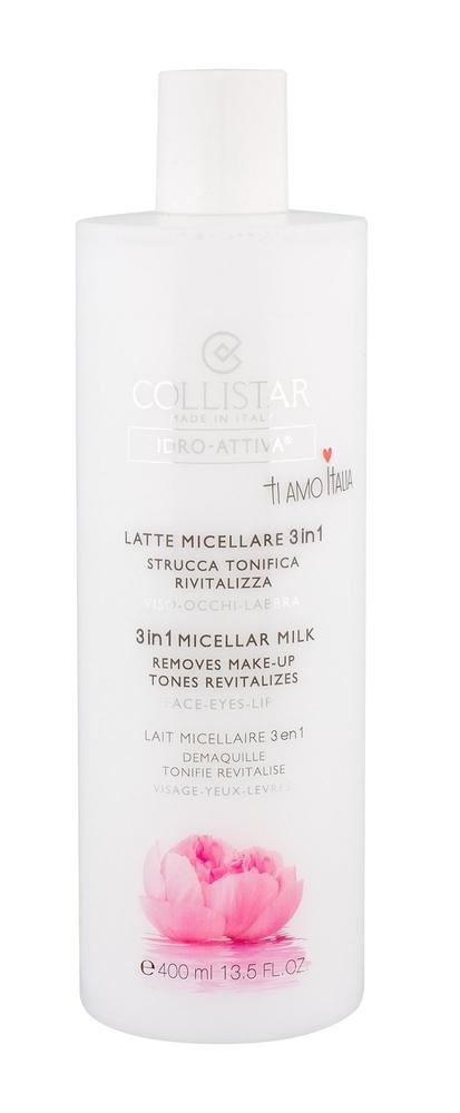 Collistar Idro-attiva 3in1 Micellar Milk Micellar Water 400ml (All Skin Types)