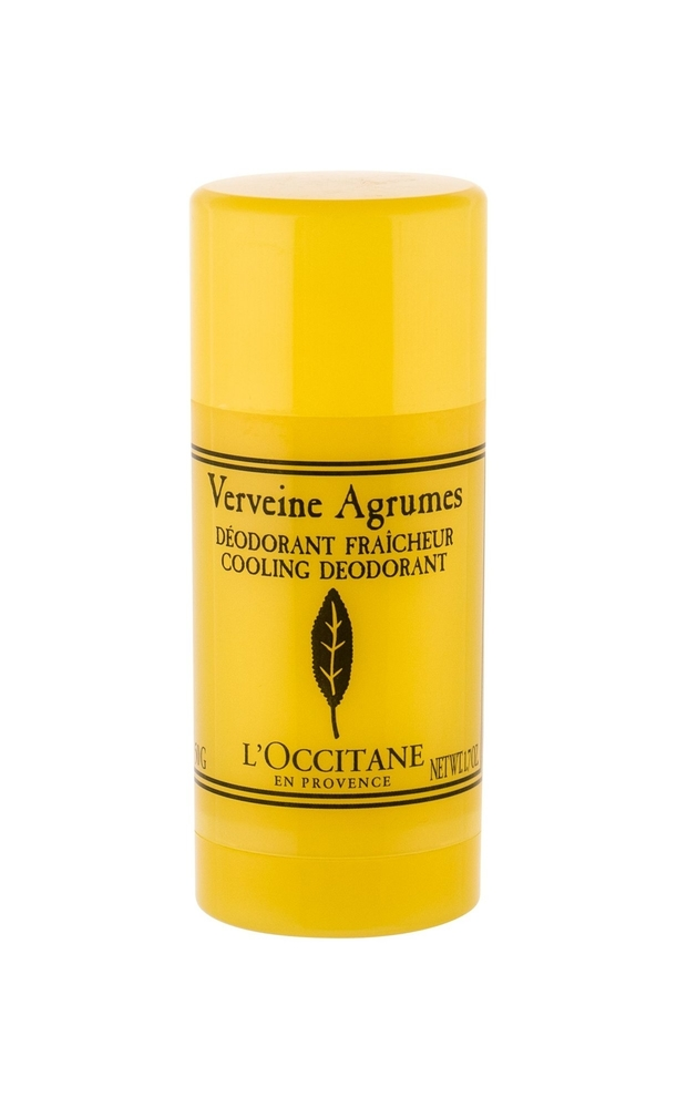 L/occitane Verveine Deodorant 50gr Aluminum Free - Alcohol Free (Deostick)