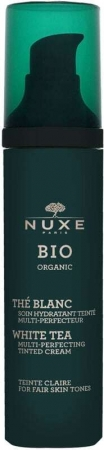Nuxe Bio Organic White Tea Tinted Cream Fair Skin Tones Day Cream Claire 50ml (Bio Natural Product - For All Ages)