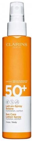 Clarins Sun Care Lotion Spray SPF50+ Sun Body Lotion 150ml
