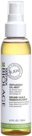 Matrix Biolage R.A.W. Replenish Oil-Mist Hair Oils and Serum 125ml (All Hair Types)
