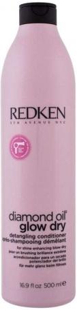 Redken Diamond Oil Glow Dry Conditioner 500ml (All Hair Types)