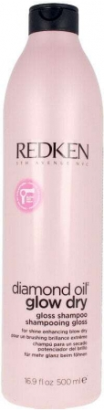 Redken Diamond Oil Glow Dry Shampoo 500ml (All Hair Types)