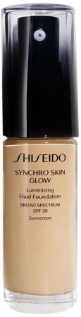 Shiseido Synchro Skin Glow SPF20 Makeup Golden 4 30ml