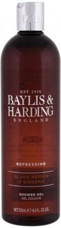 Baylis & Harding For Him Black Pepper & Ginseng Shower Gel 500ml